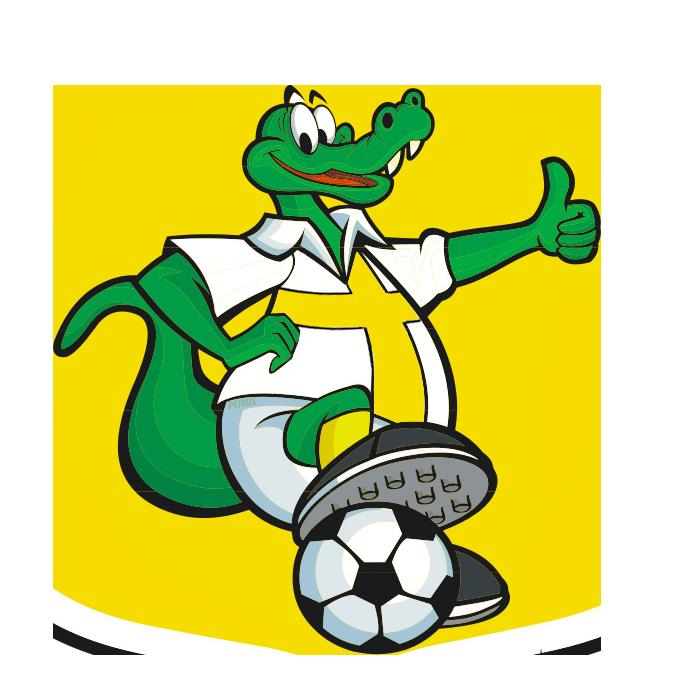 Jacaré, o mascote do Brasiliense FC